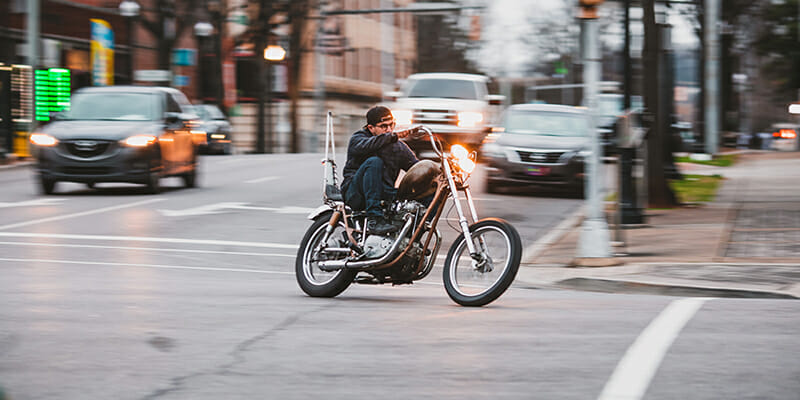 St. Petersburg Motorcycle Accident Attorneys | Man Raiding Motorcycle