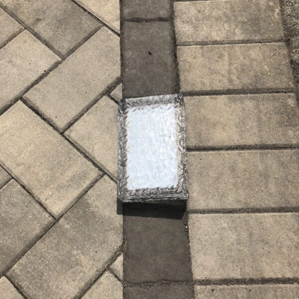 paver glass light