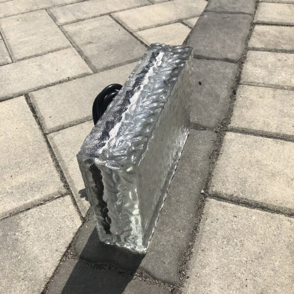 glass paver light
