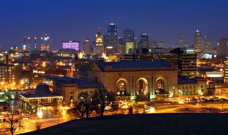 Kansas City MO Skyline