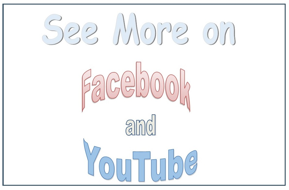 Explore our posts on Facebook and YouTube