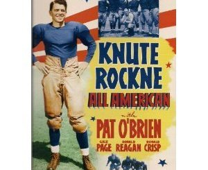 knute rockne all american film review