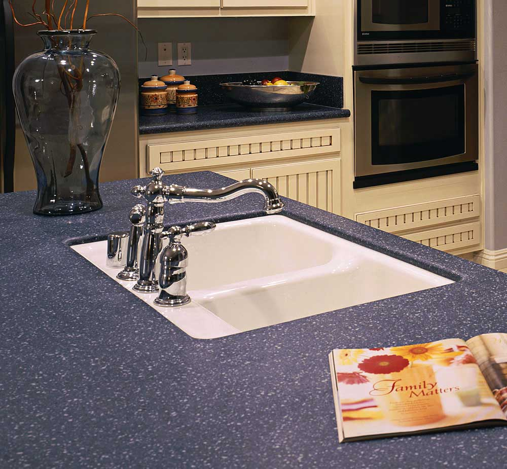 solid surface sinks santee