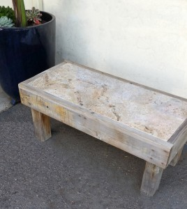Bench with Granite2