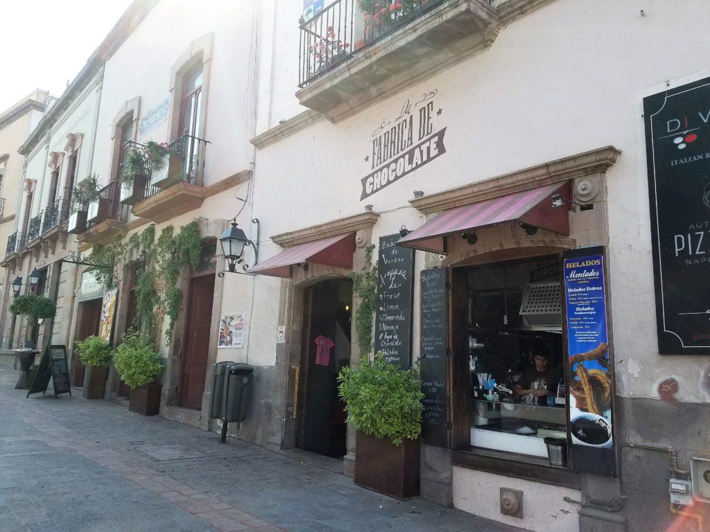 La Fabrica de Chocolate in the historic center of Querétaro, Mexico