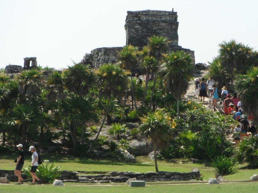 Templo de Dio Viento at Tulum, Mexico