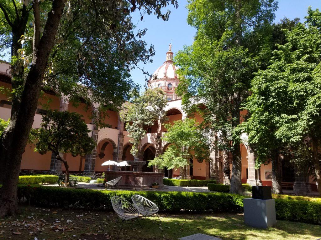 Belles Artes in an old convent in San Miguel de Allende, Mexico