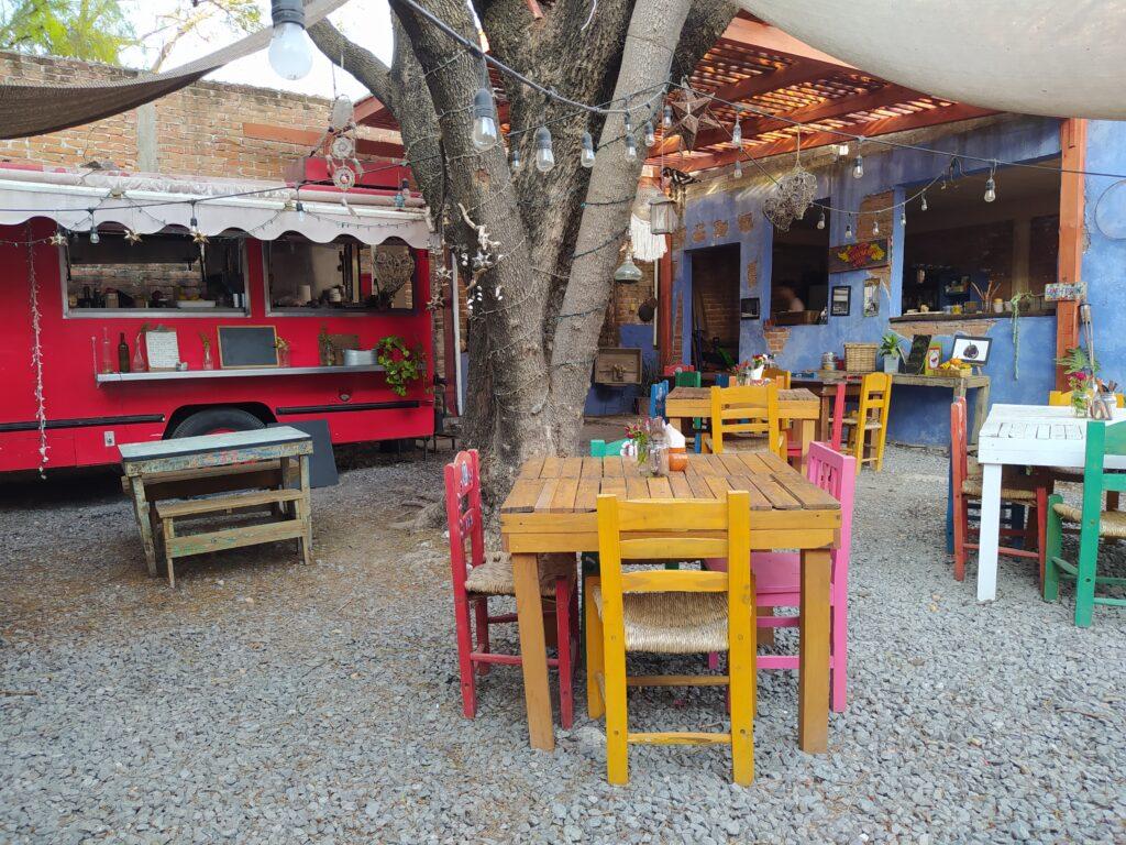 Restaurant Mio Bistrock in Guadalupe, San Miguel de Allende, Mexico