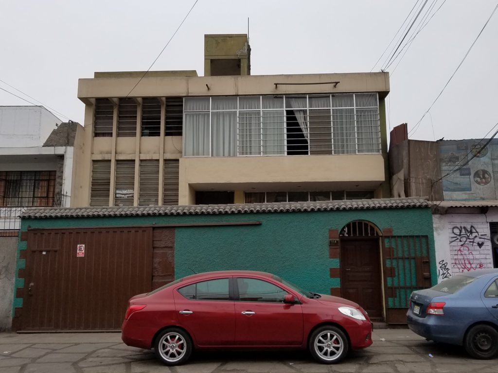 House of Chez Wong in Lima, Peru
