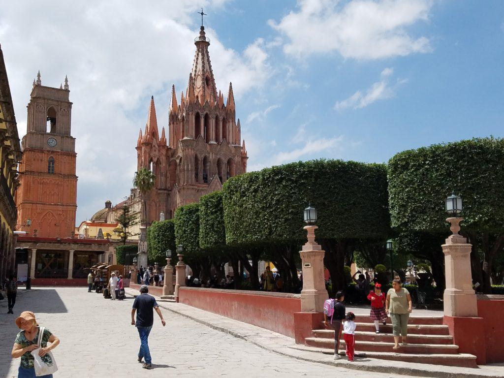 San Miguel de Allende, Guanajuato in Colonial Mexico