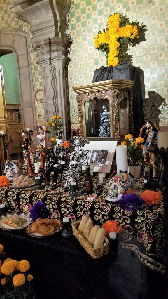 Altar in Casa de la Marquesa Boutique Hotel