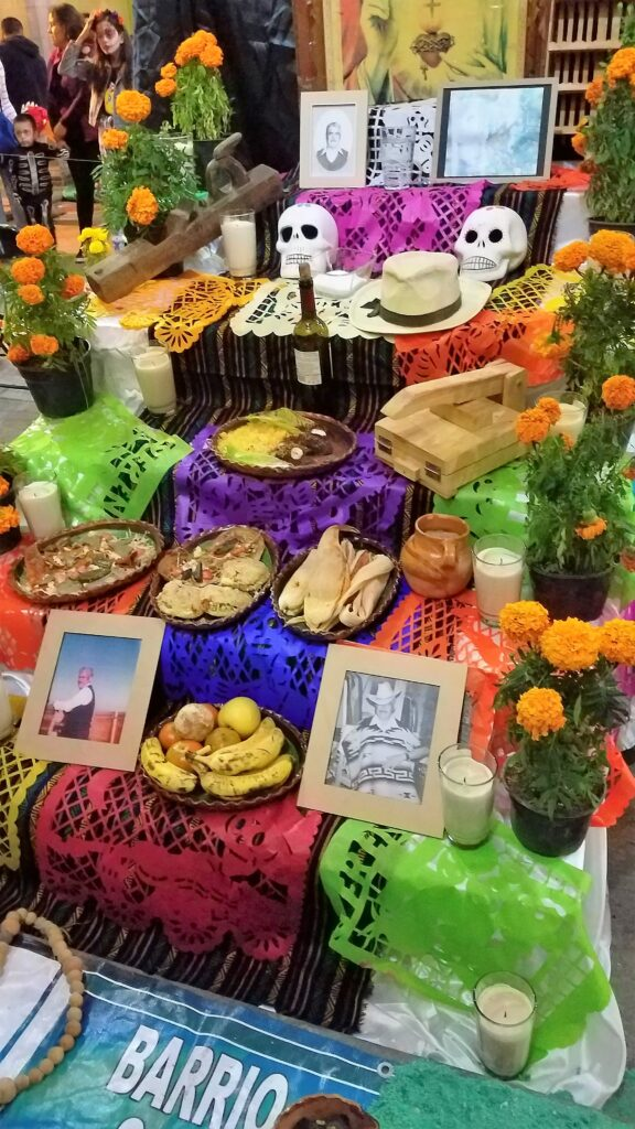 Altar at Day of the Dead