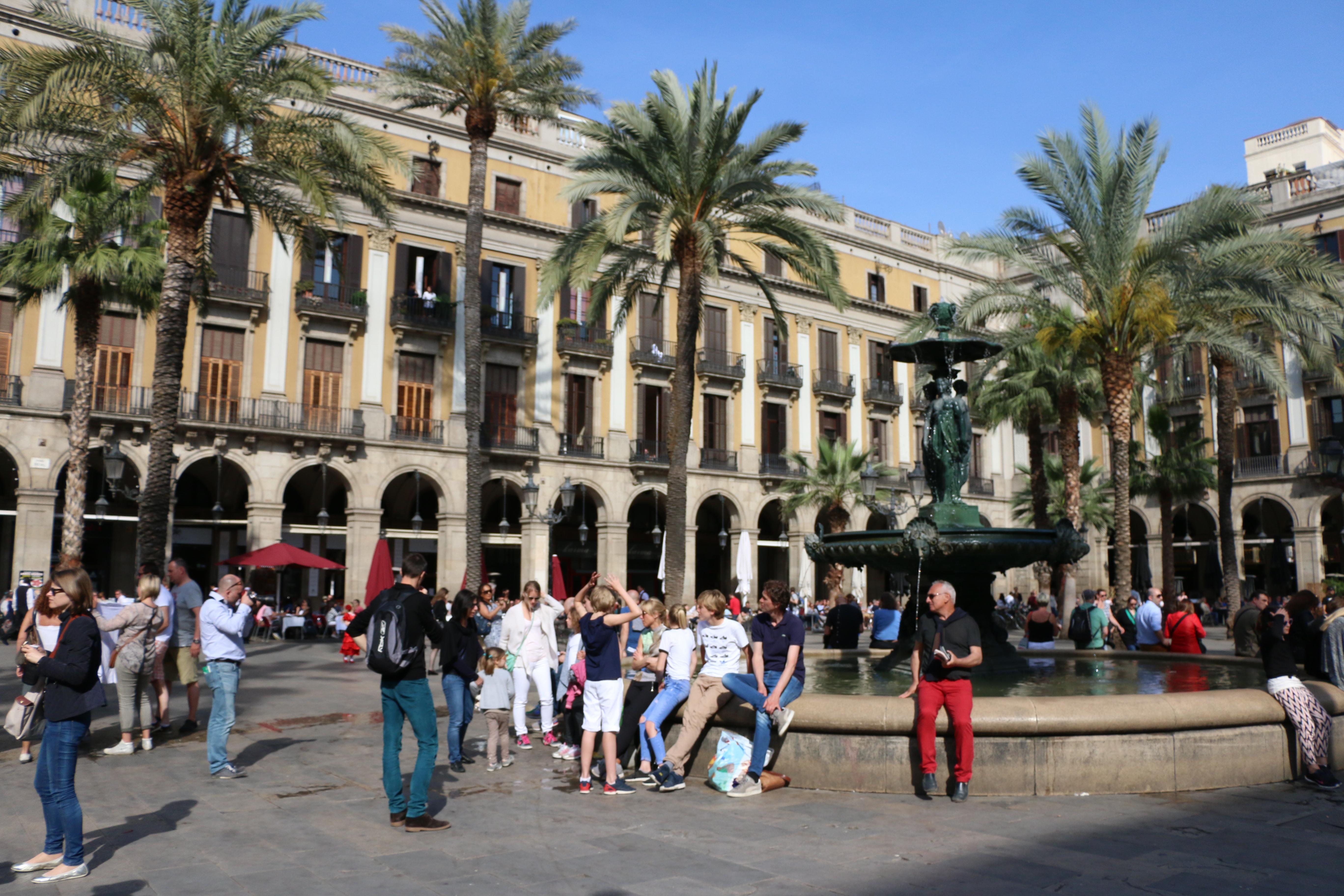 Plaza in Madrid