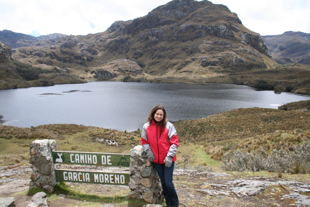 Hiking the Continental Divide in Ecuador