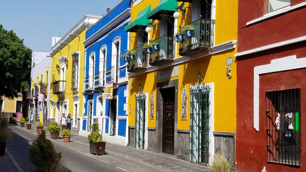 Colorful Street in Los Sapos