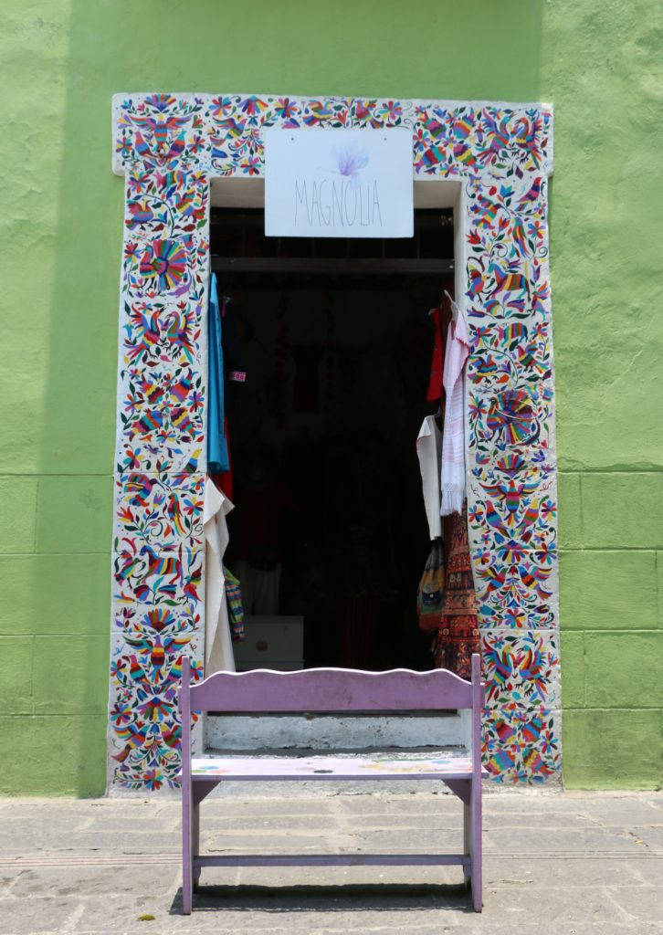 Doorway of Magnolia Shop on Calle 6 Sur, Puebla