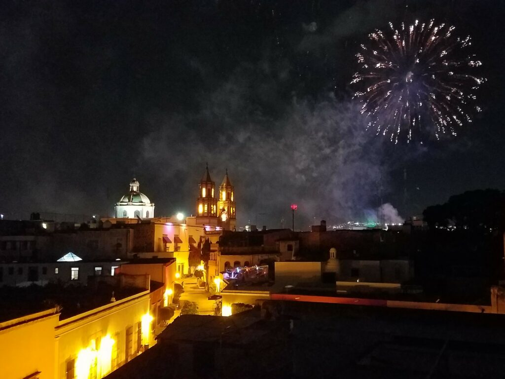 Fireworks in Queretaro