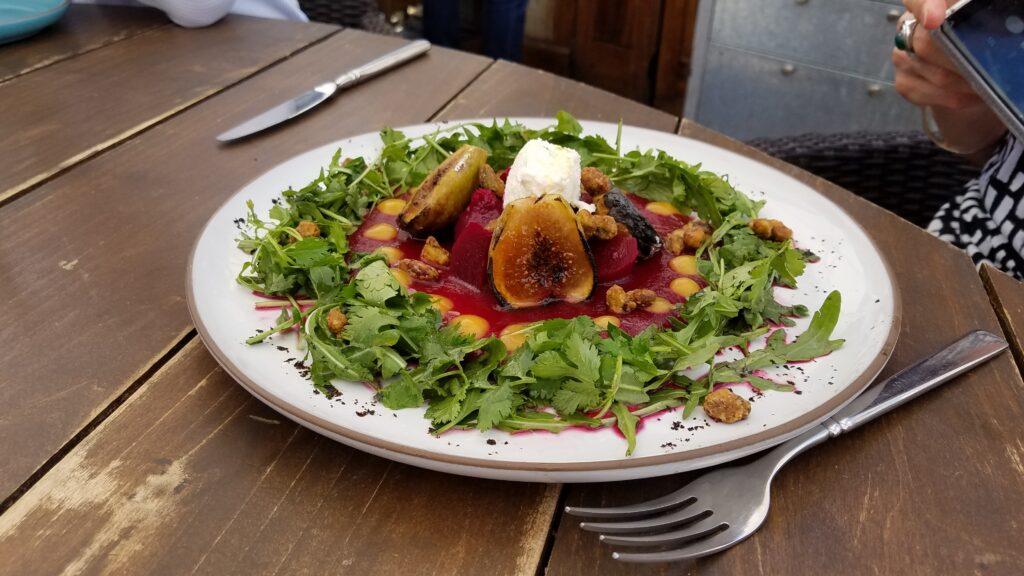 Fig and Beet Salad, Quince, San Miguel de Allende