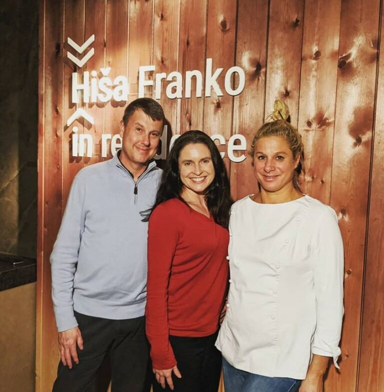 Hisa Franko in Residence Pop Up Dinner in Madrid