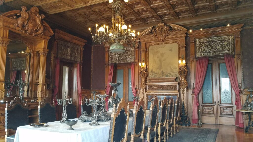 Chapultepec Castle Dining Room, Mexico CIty