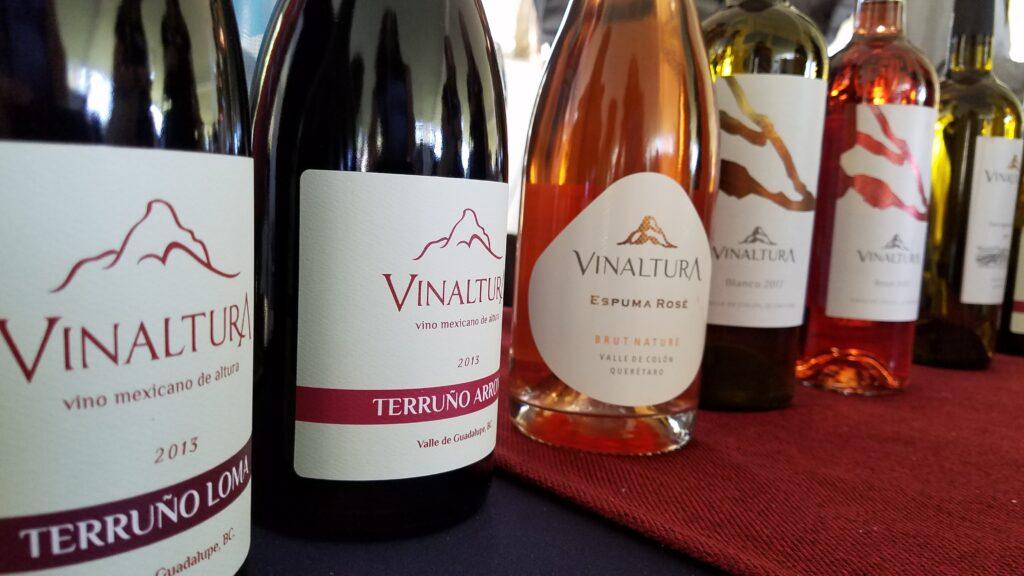 Queretaro wineries: Vinaltura line of wines