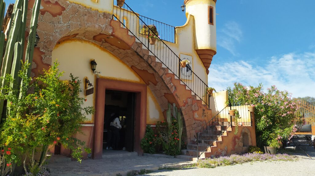 Queretaro wineries: Vinedos Azteca