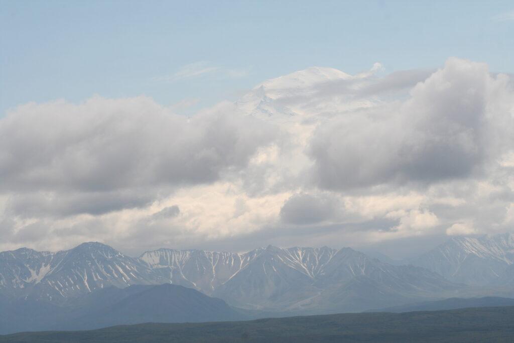 Denali and the Alaska Range in Alaska