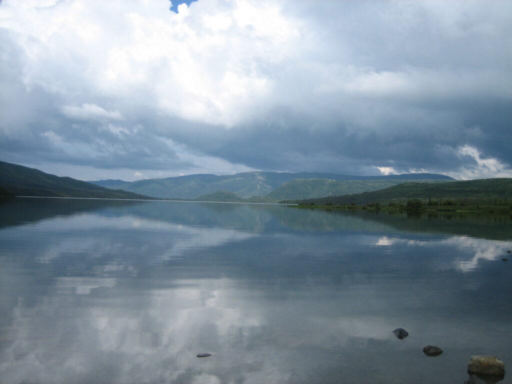 Wonder Lake in Denali National Park, Alaska
