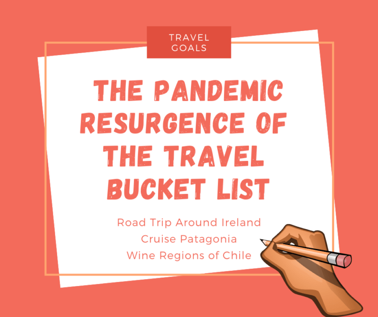 The Pandemic Resurgence of the Travel Bucket List
