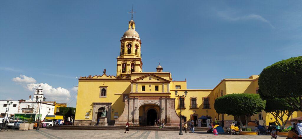 Templo y Convento de la Santa Cruz, Queretaro, Mexico