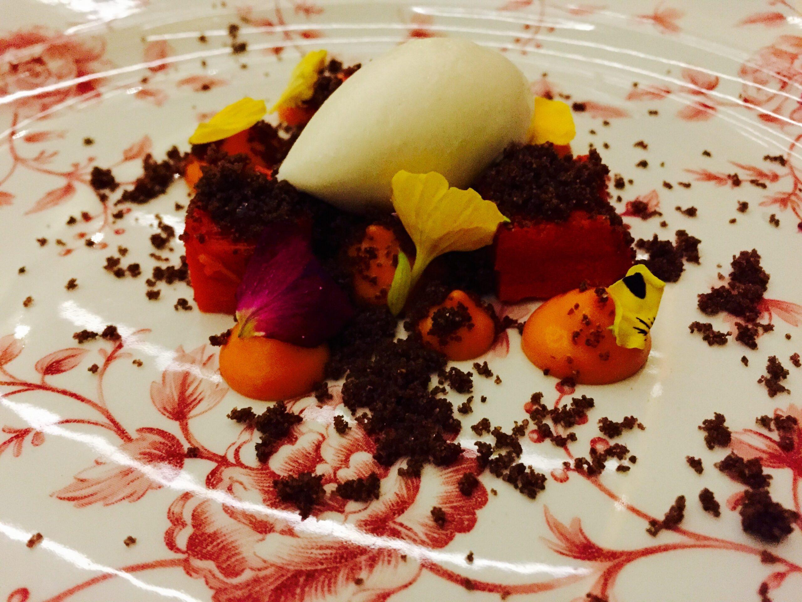 Dessert at Quintonil