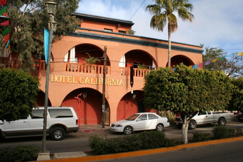 Hotel California, Todos Santos, Mexico