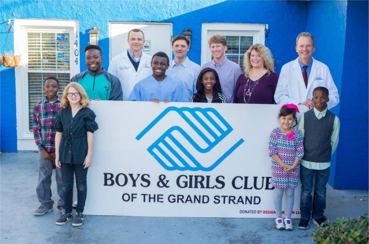 Carolina Radiology Associates Teams Up with Boys & Girls Club of the Grand Strand