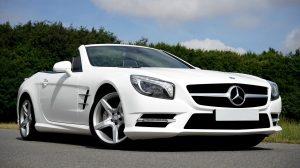 Parked Mercedes-Benz
