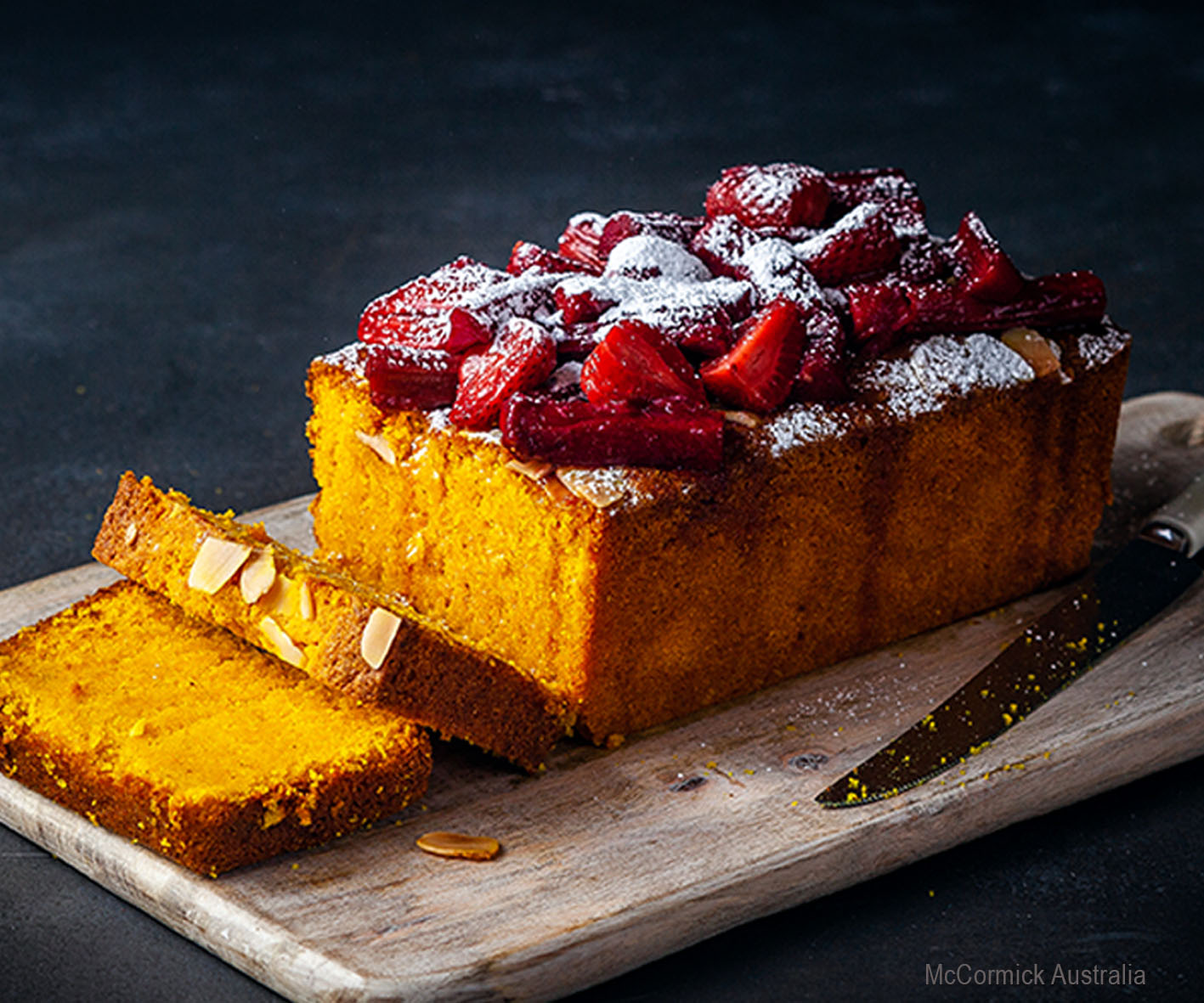 COOKINGPOSTJPEG - 1.-TURMERIC-POLENTA-CAKE-WITH-CINNAMON-FRUIT-AND-YOGHURT-CREAM