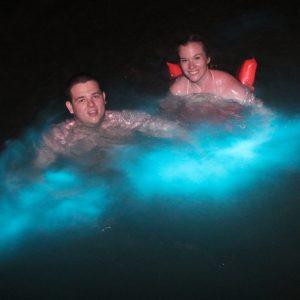 Luminous Lagoon swiming
