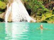 swim in blue hole ocho rios
