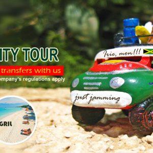 airport transfers in Jamaica- Promo