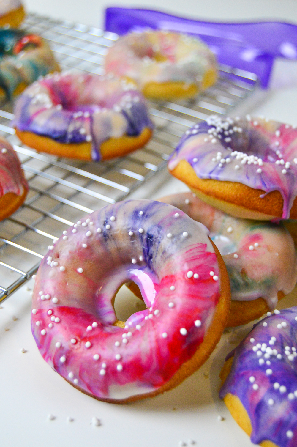 Marbled Donuts   Club Crafted