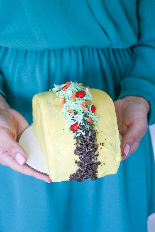 How to Make a Taco Cake | Club Crafted