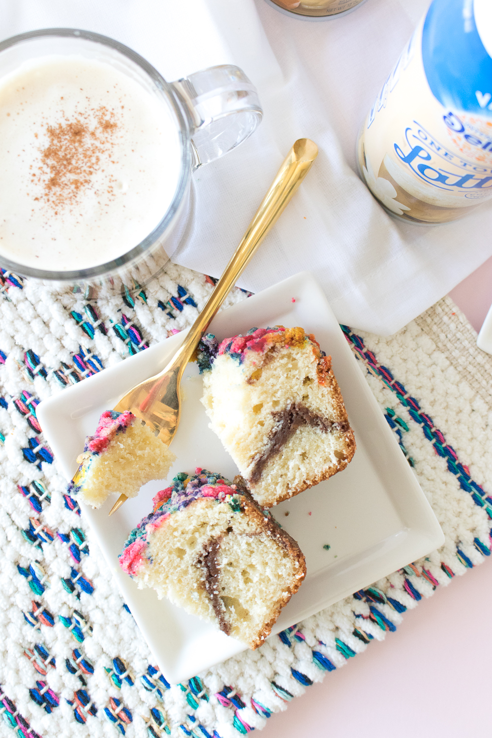 A Latte's BFF: Colorful Coffee Cake Recipe   Club Crafted