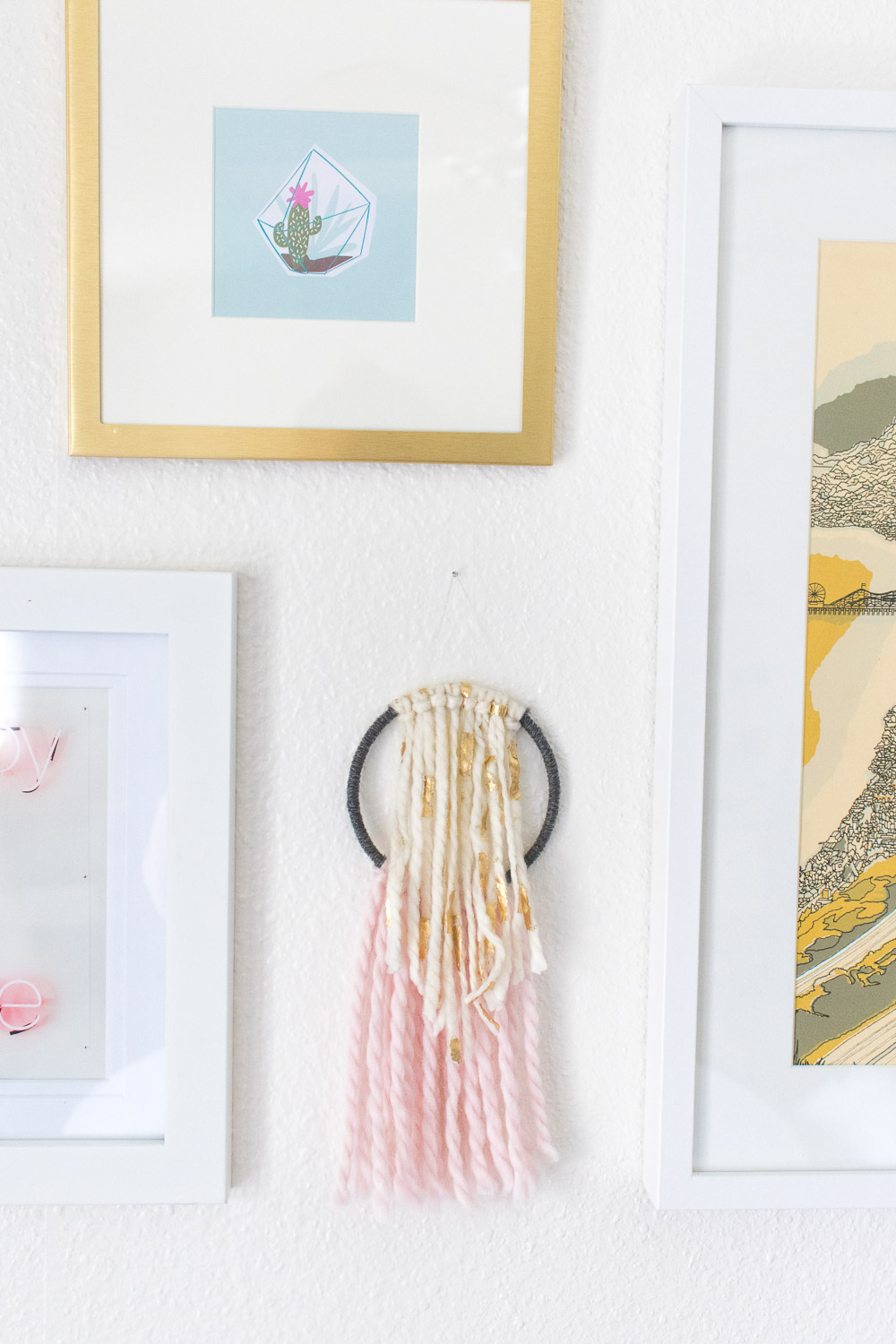 DIY Simple Wall Hanging | Club Crafted