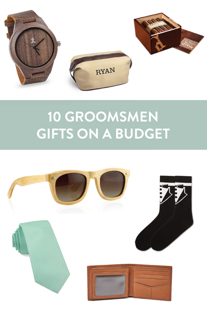 Budget-Friendly Groomsmen Gifts