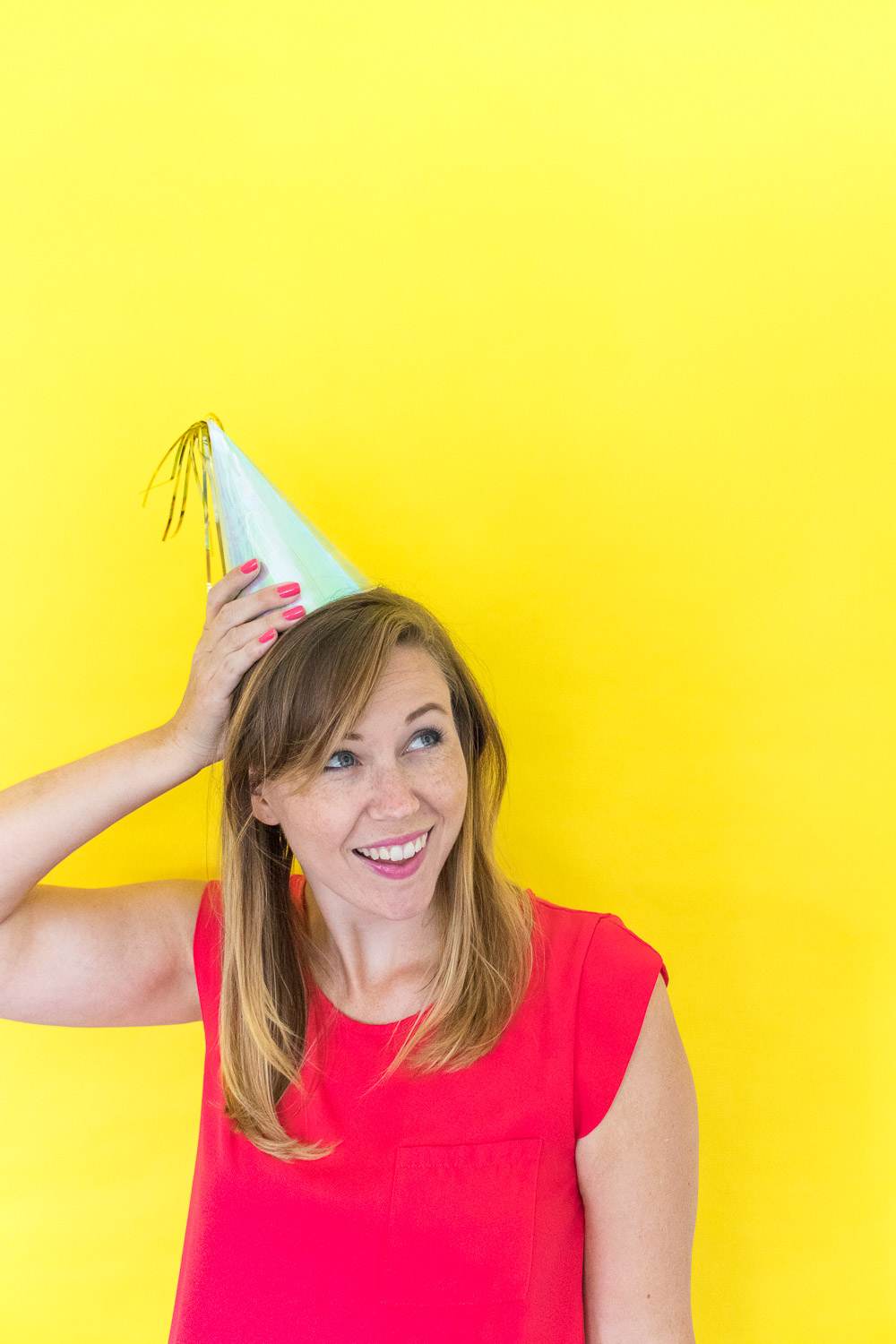 DIY Iridescent Party Hats   Club Crafted