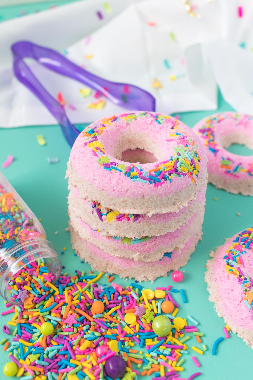 DIY Donut Bath Bombs   Club Crafted
