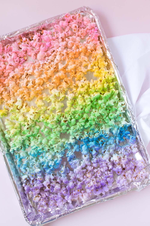 Rainbow Popcorn | Club Crafted