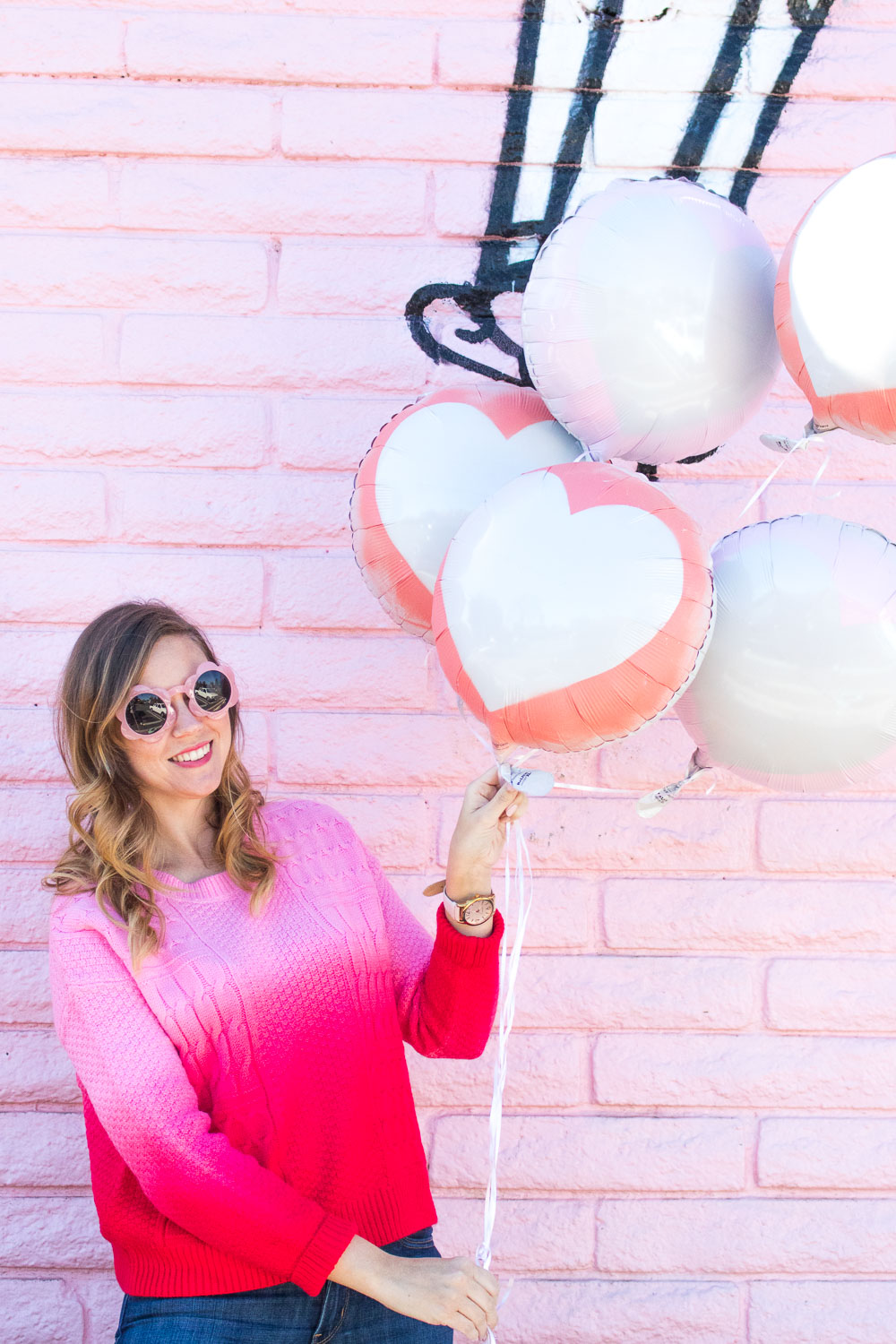 DIY Silhouette Heart Balloons for Valentine's Day | Club Crafted