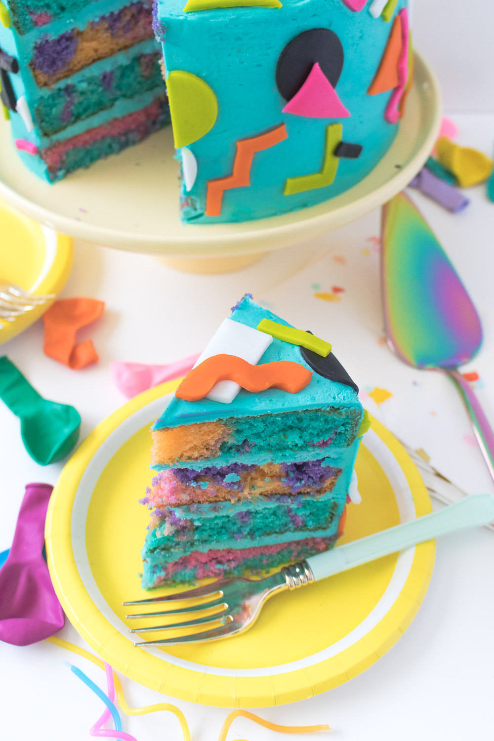 Sensational Throwback Tie Dye 90S Inspired Cake Club Crafted Personalised Birthday Cards Paralily Jamesorg