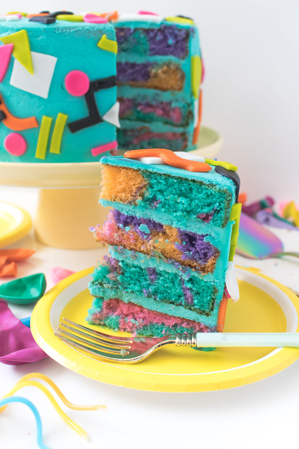 90s Throwback Layer Cake | Club Crafted