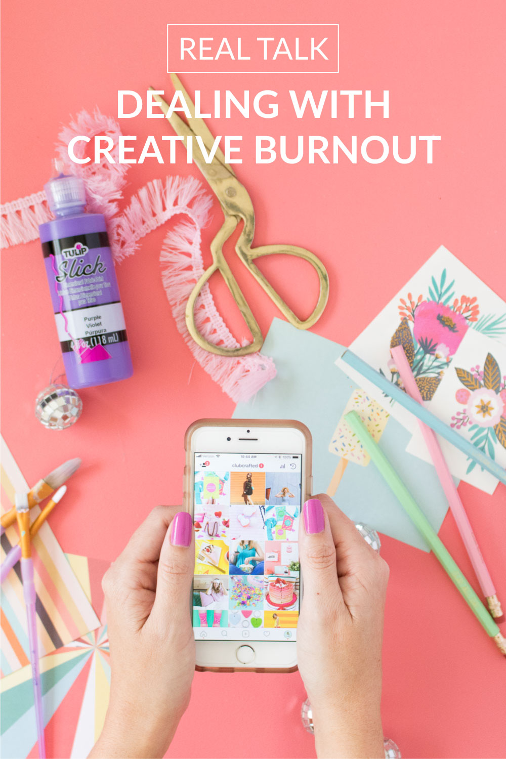 Real Talk: Dealing with Creative Burnout   Club Crafted